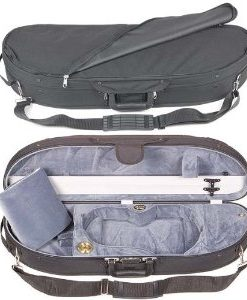 Bobelock Half Moon 1047 Black/Gray 3/4 Violin Case
